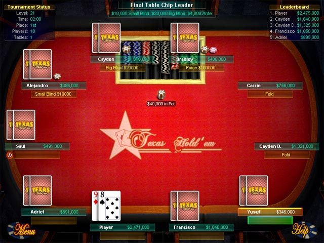Mistakes in Texas Hold'em Poker tournaments