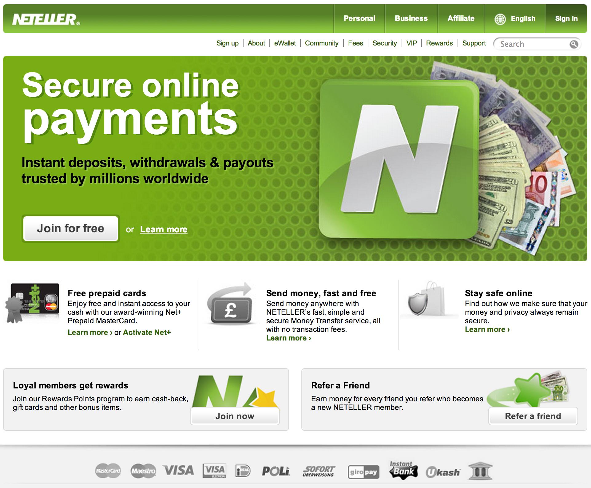 Deposit Options for Online Poker