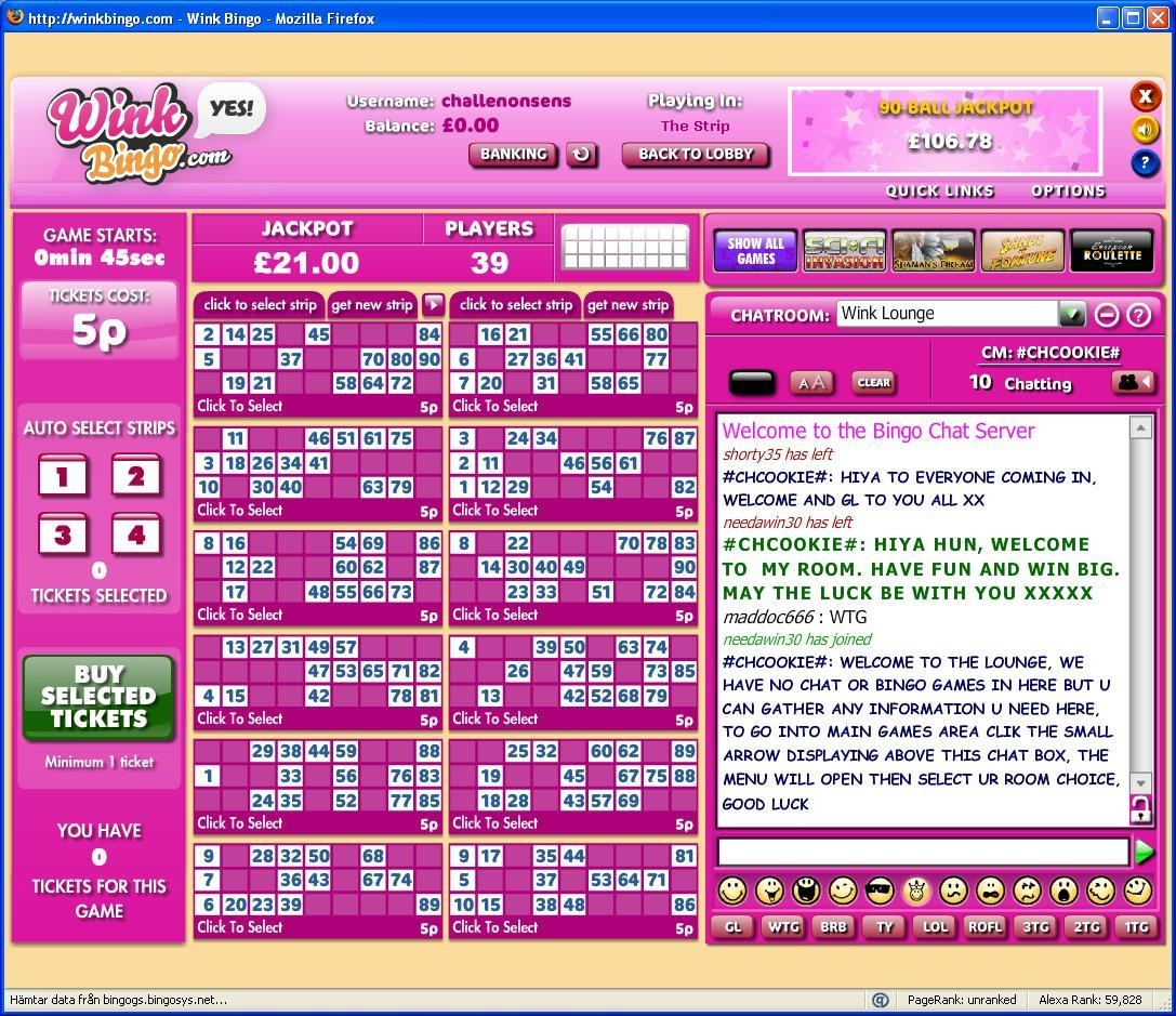 Online Bingo And The Chat Function